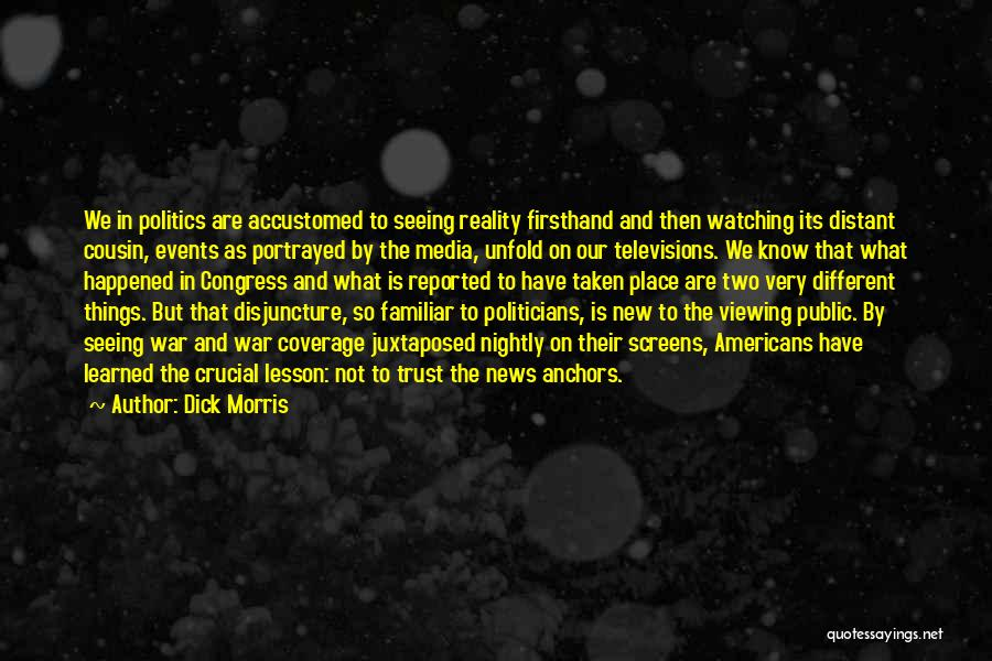 Nightly Quotes By Dick Morris