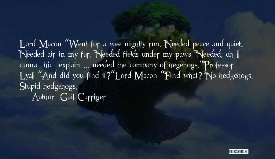 Nightly Quotes By Gail Carriger