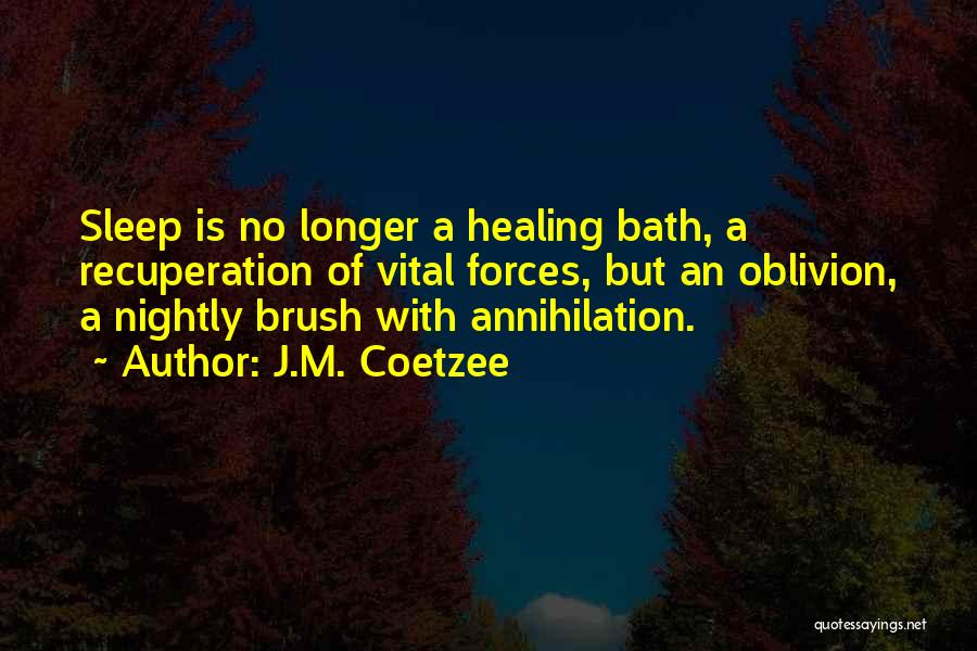 Nightly Quotes By J.M. Coetzee
