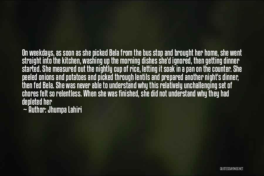 Nightly Quotes By Jhumpa Lahiri