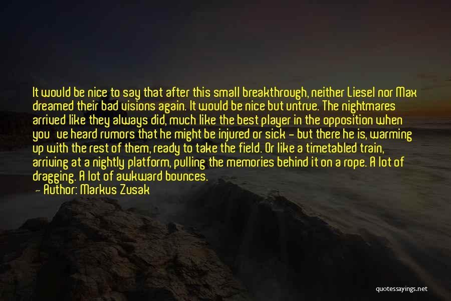 Nightly Quotes By Markus Zusak