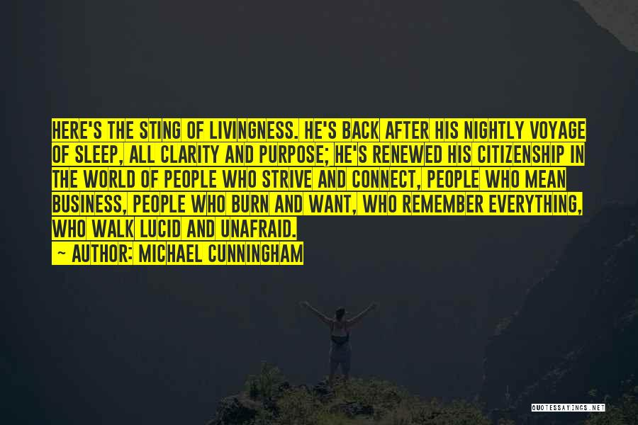 Nightly Quotes By Michael Cunningham