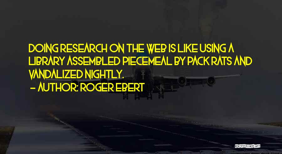 Nightly Quotes By Roger Ebert