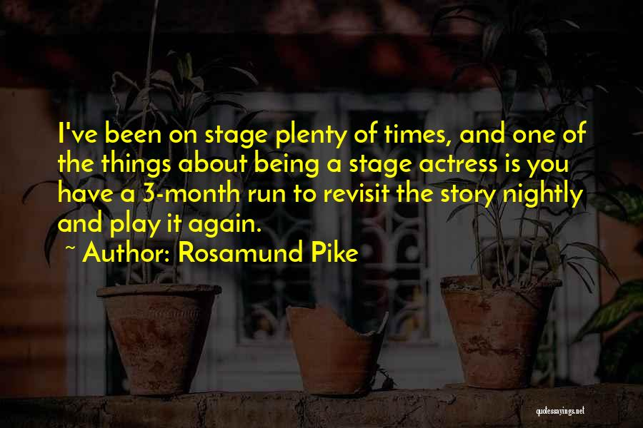 Nightly Quotes By Rosamund Pike