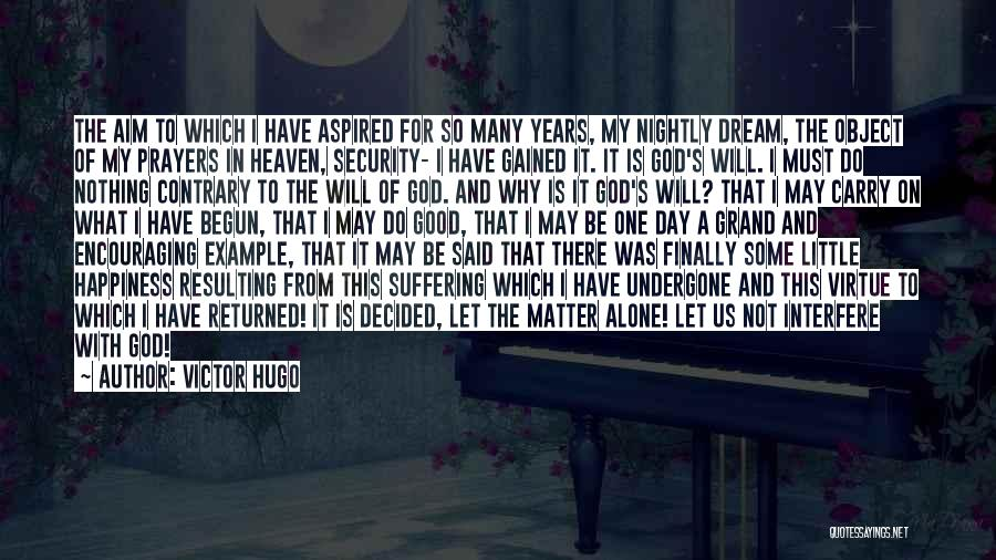 Nightly Quotes By Victor Hugo