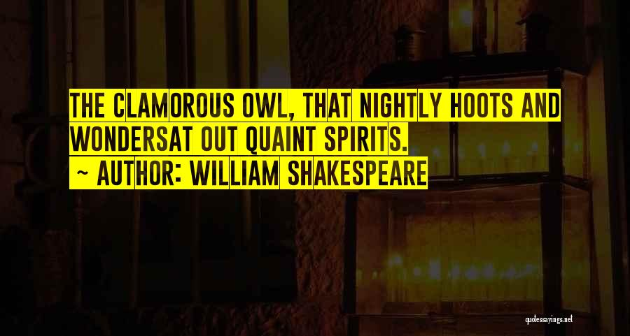 Nightly Quotes By William Shakespeare