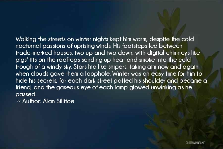 Nights With Him Quotes By Alan Sillitoe