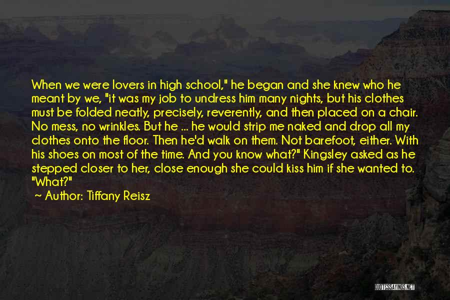 Nights With Him Quotes By Tiffany Reisz
