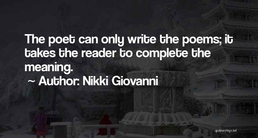 Nikki Giovanni Quotes 1190500