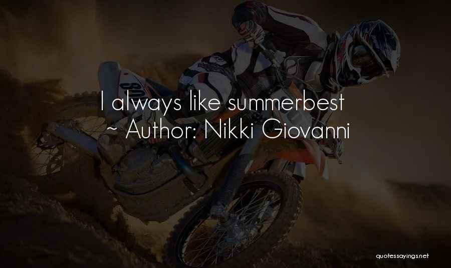 Nikki Giovanni Quotes 1328050