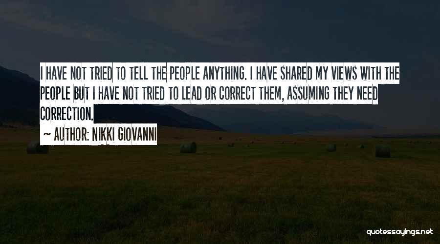 Nikki Giovanni Quotes 1463108