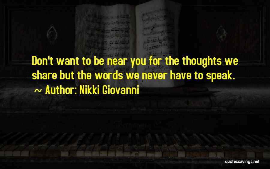 Nikki Giovanni Quotes 301393