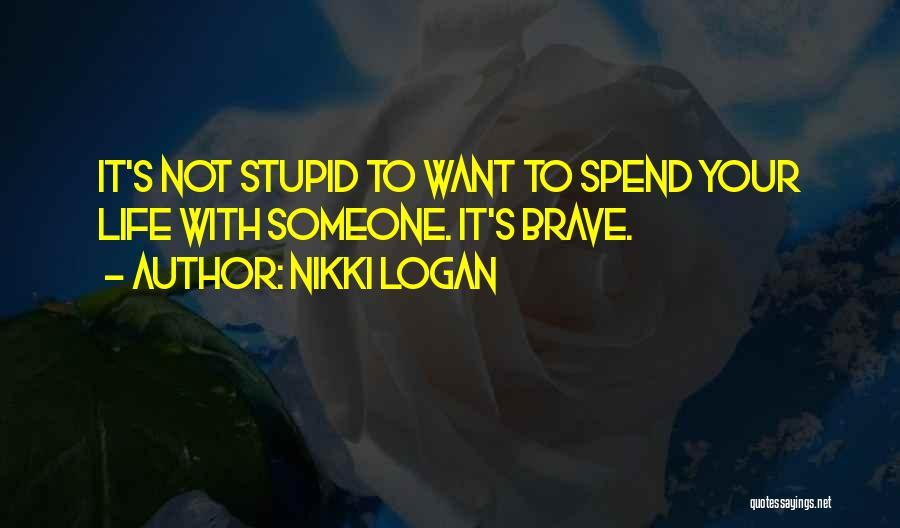 Nikki Logan Quotes 285740