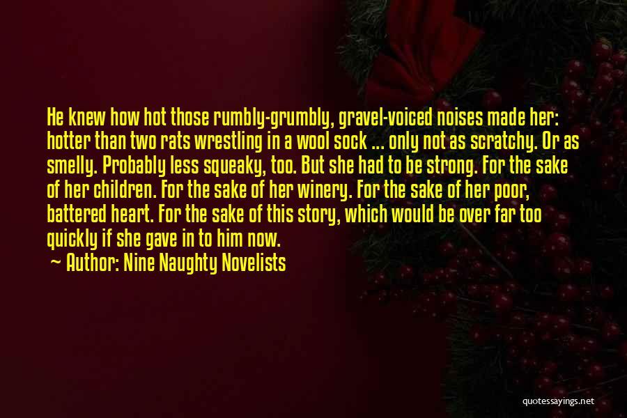 Nine Naughty Novelists Quotes 1091599