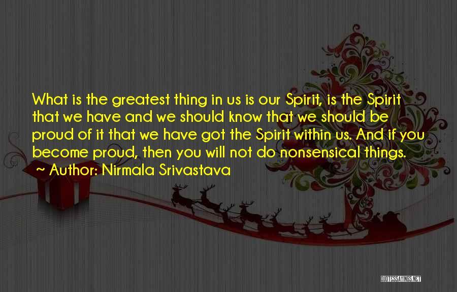 Nirmala Srivastava Quotes 1020564