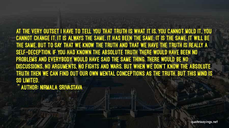 Nirmala Srivastava Quotes 1506548