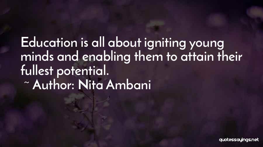 Nita Ambani Quotes 1206850