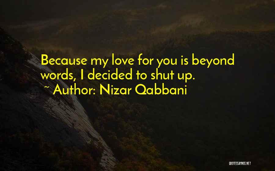 Nizar Qabbani Quotes 1595420