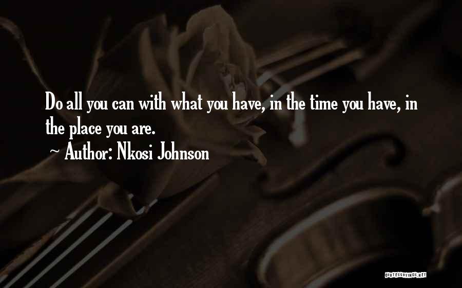 Nkosi Johnson Quotes 2066966