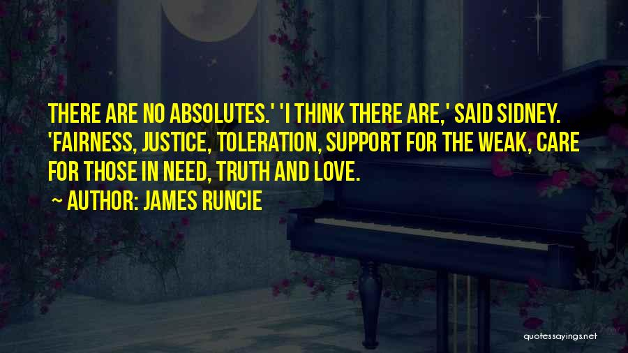 No Absolutes Quotes By James Runcie