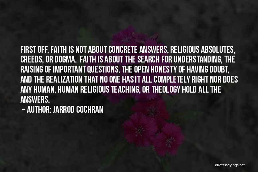 No Absolutes Quotes By Jarrod Cochran
