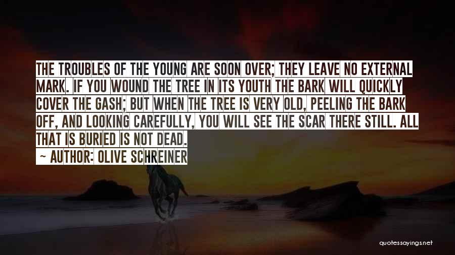 No Bark Quotes By Olive Schreiner
