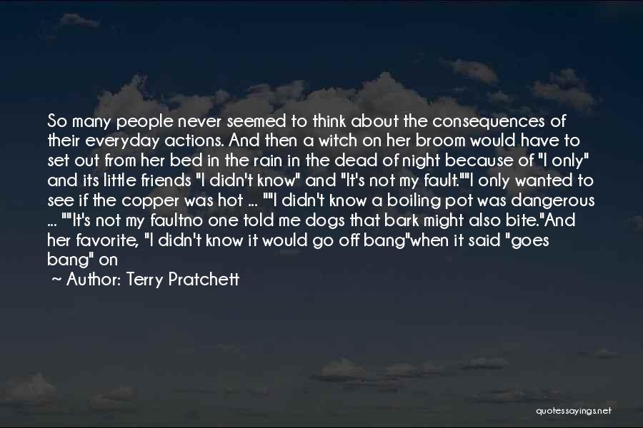 No Bark Quotes By Terry Pratchett