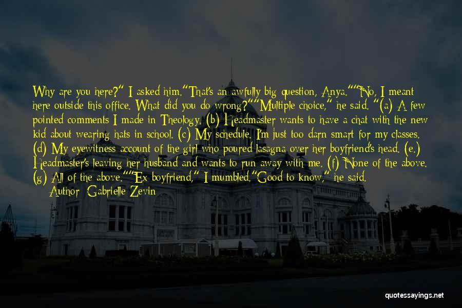 No Comments Quotes By Gabrielle Zevin