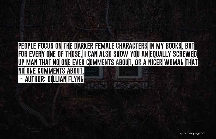 No Comments Quotes By Gillian Flynn