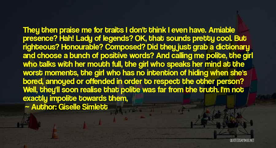 No Comments Quotes By Giselle Simlett