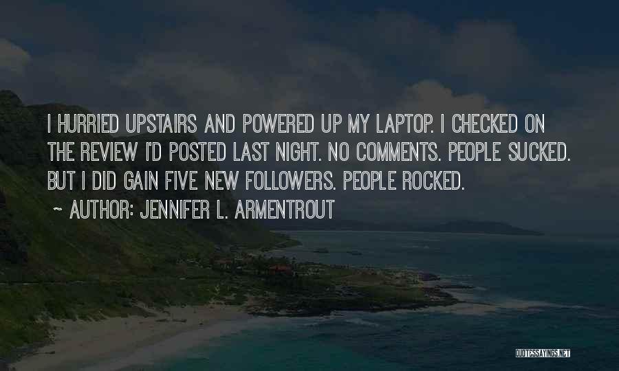 No Comments Quotes By Jennifer L. Armentrout