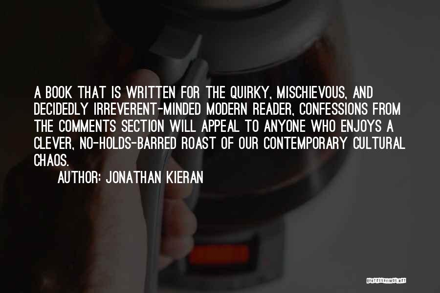 No Comments Quotes By Jonathan Kieran
