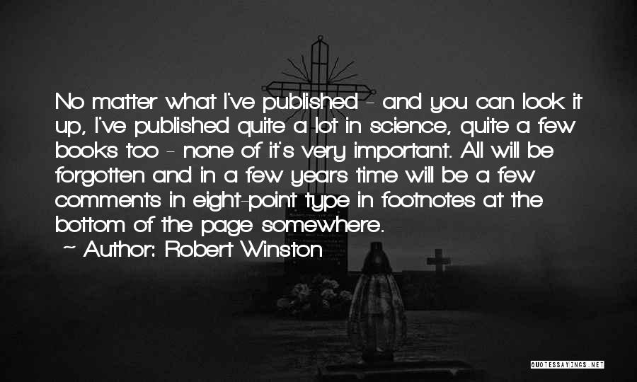 No Comments Quotes By Robert Winston