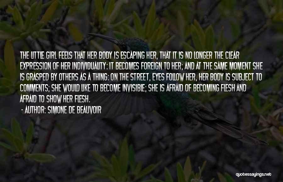 No Comments Quotes By Simone De Beauvoir