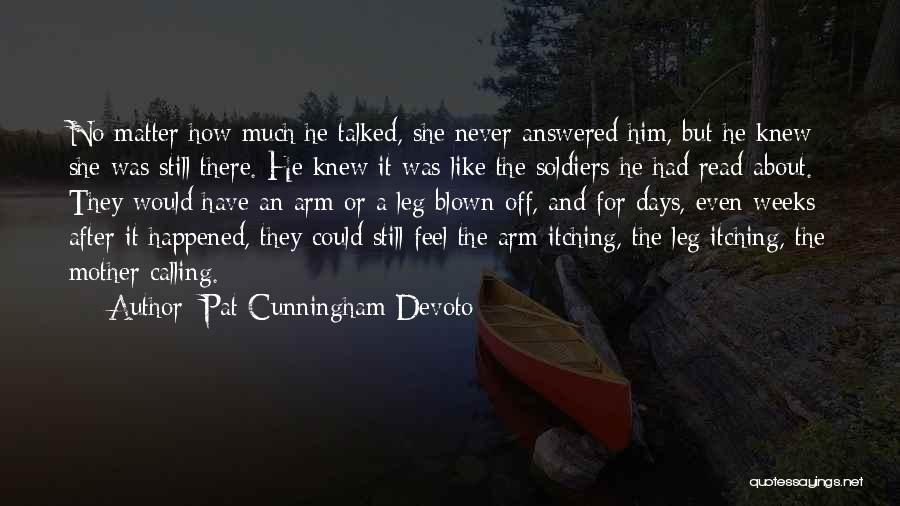 No Days Off Quotes By Pat Cunningham Devoto
