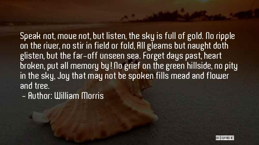 No Days Off Quotes By William Morris