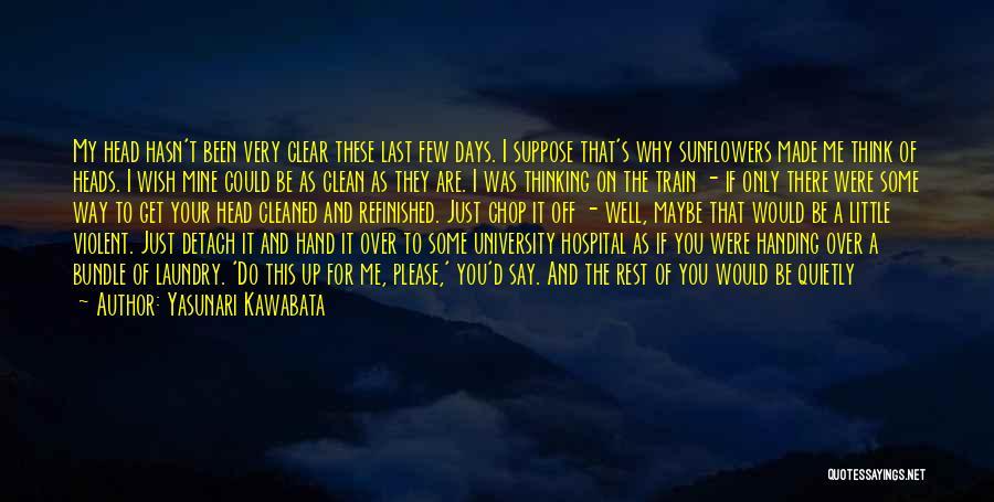 No Days Off Quotes By Yasunari Kawabata