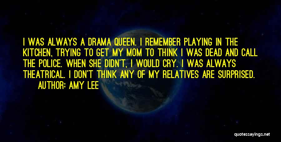 No Drama Queen Quotes By Amy Lee