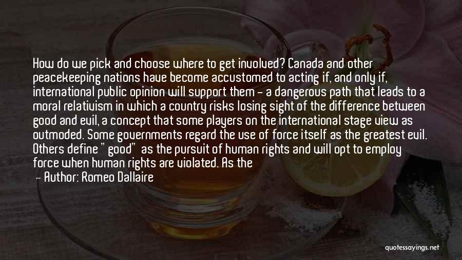 No End In Sight Quotes By Romeo Dallaire