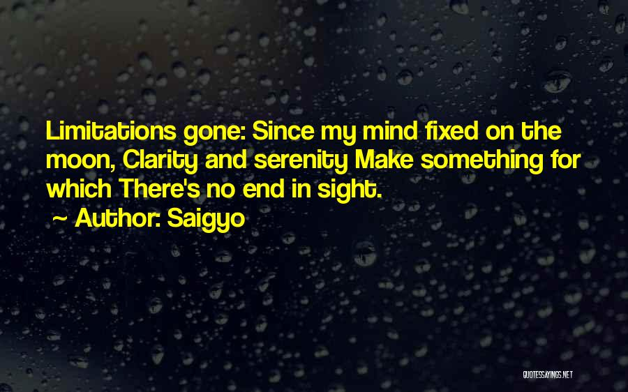 No End In Sight Quotes By Saigyo