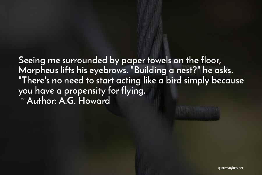No Eyebrows Quotes By A.G. Howard