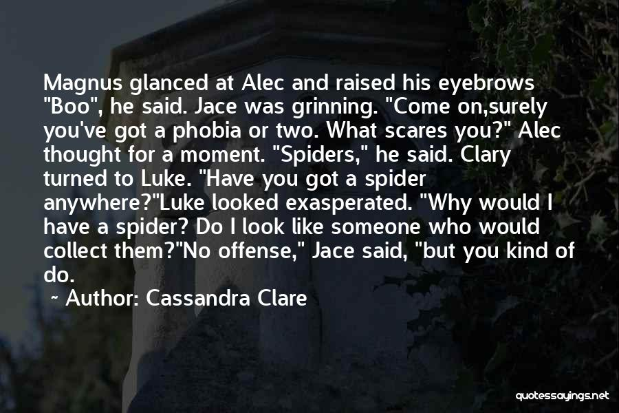 No Eyebrows Quotes By Cassandra Clare