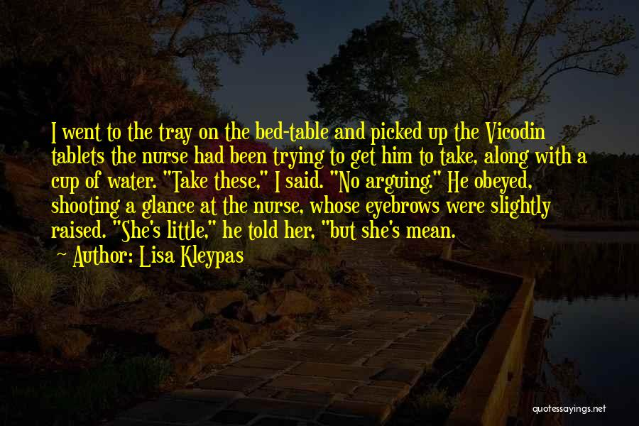 No Eyebrows Quotes By Lisa Kleypas