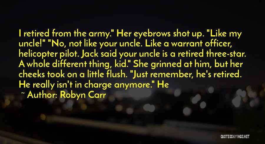 No Eyebrows Quotes By Robyn Carr