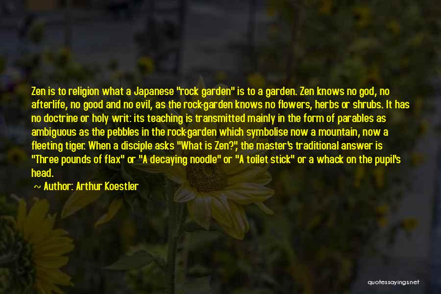 No God No Master Quotes By Arthur Koestler