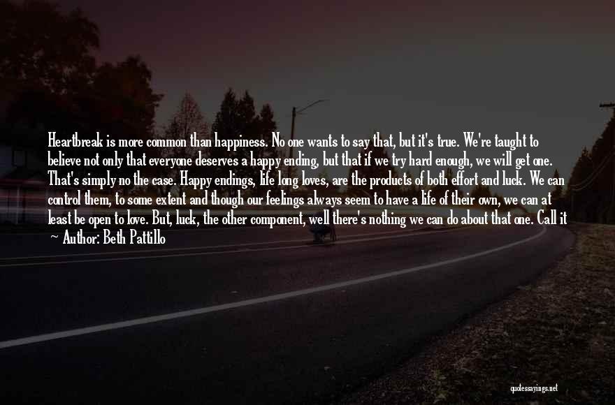 No Happy Endings Quotes By Beth Pattillo