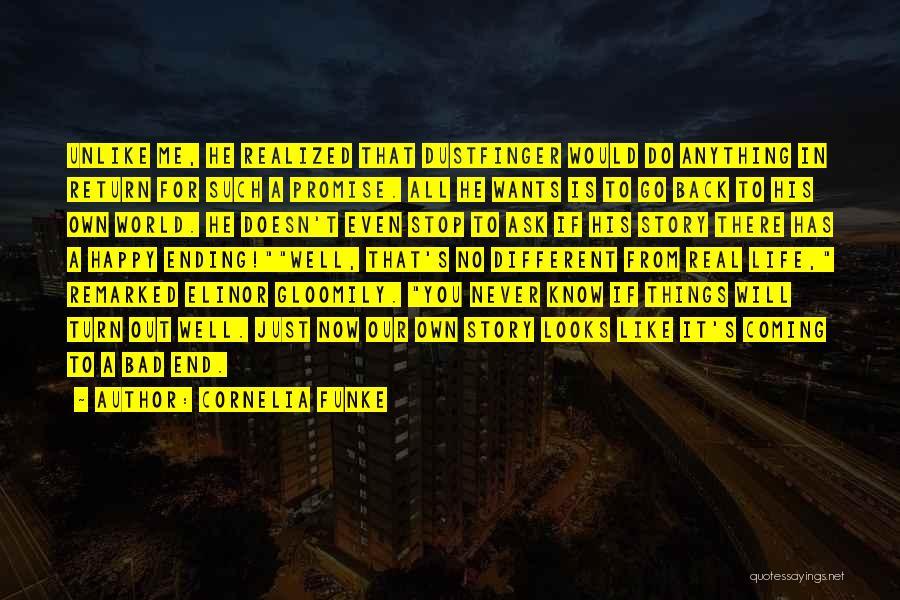 No Happy Endings Quotes By Cornelia Funke