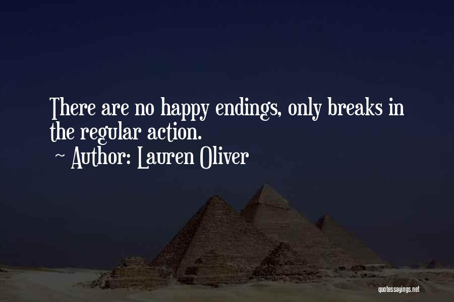 No Happy Endings Quotes By Lauren Oliver