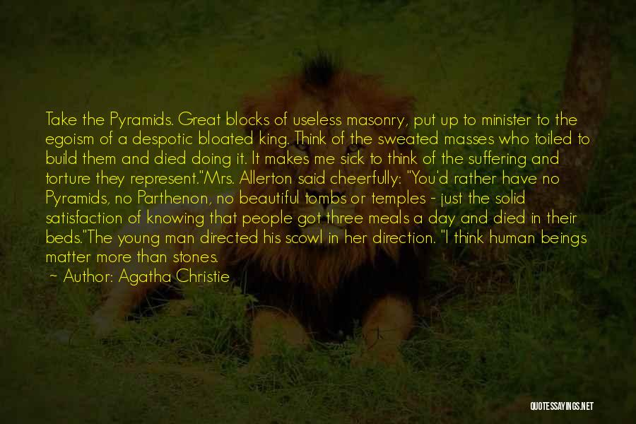 No Humanity Quotes By Agatha Christie