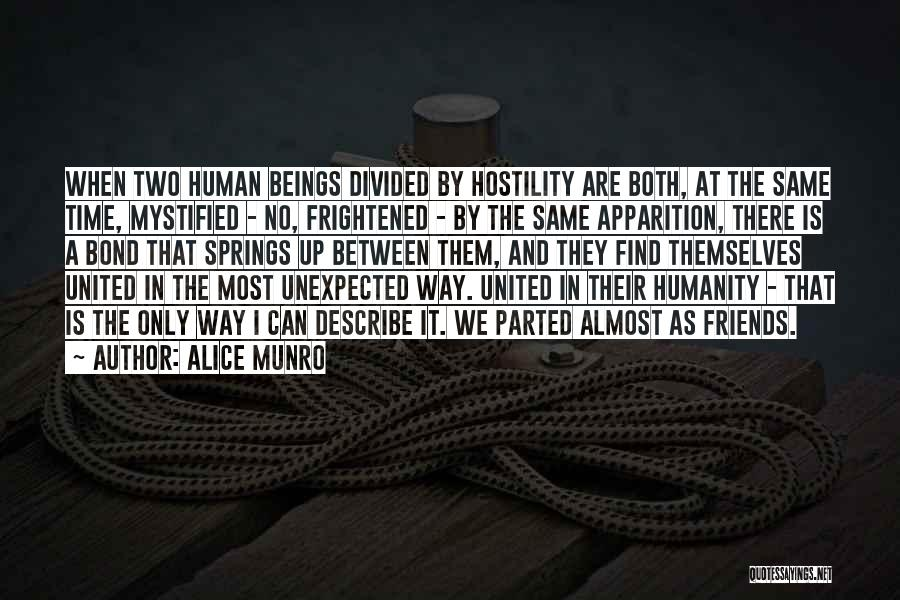 No Humanity Quotes By Alice Munro
